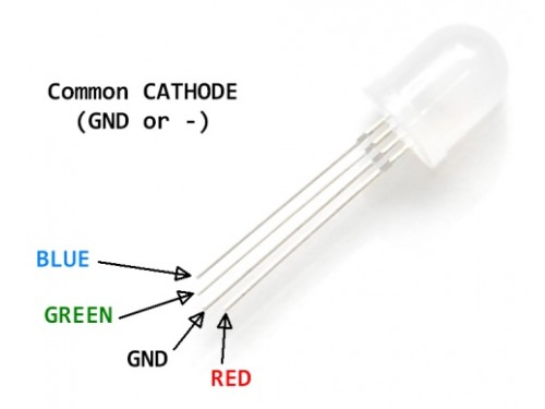 LED - RGB (10mm)