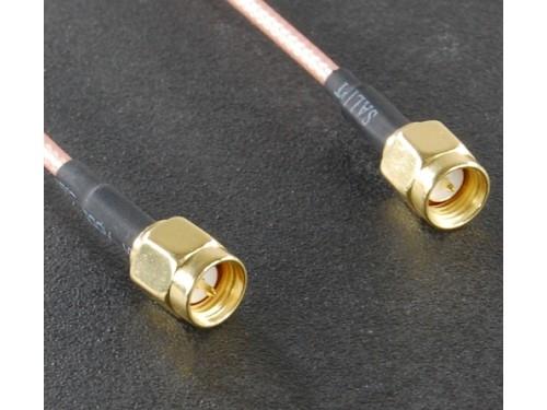SMA-Male RF Coax Cable - 15cm