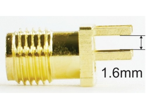 SMA female connector (1.6mm)