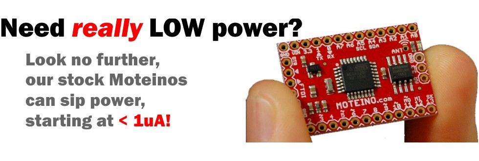 Got Low Power? You Bet!