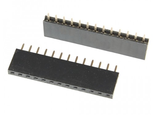 Female Headers 1x13 for Moteino (2pcs)