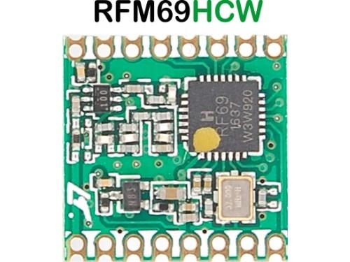 RFM69HCW 433mhz