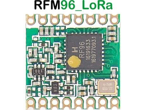 RFM96 LoRa transceiver