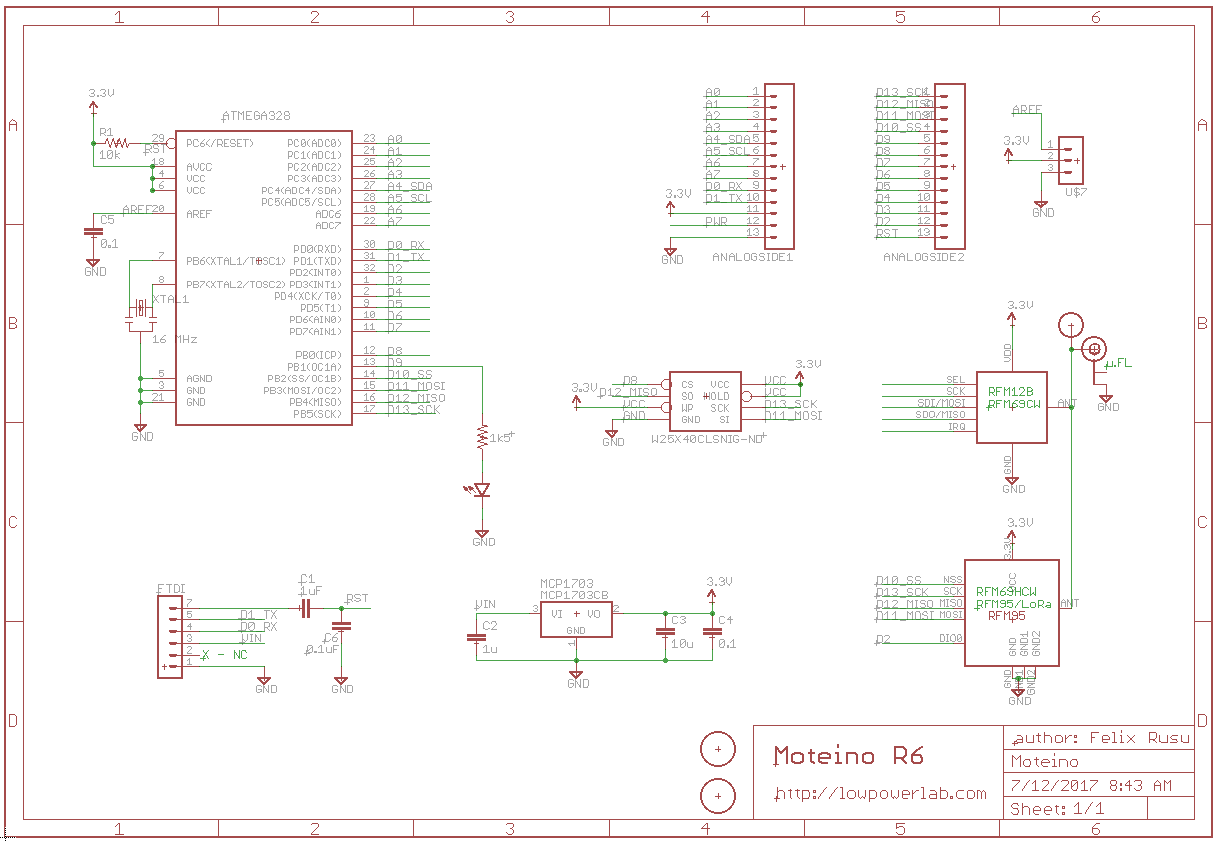 Design Files All About Moteino Lowpowerlab Schematics